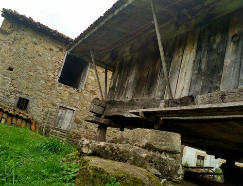 Espinaréu, el pueblo de los hórreos